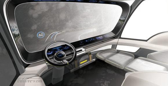 """Vandeniliu varomas sunkvežimis atrodys taip: """"Hyundai"""" nutekino pirmuosius vaizdus"""