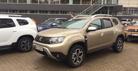 """Tvirtesnį """"Duster"""" pagaminusi """"Dacia"""" papasakojo, kodėl džiugina gautos trys """"Euro NCAP"""" žvaigždutės"""