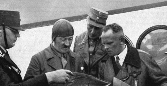 """Knygos ištrauka. """"Aš buvau Hitlerio pilotas"""""""