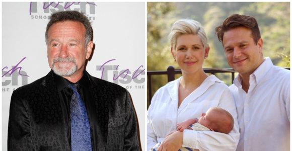 """Robino Williamso sūnus Zakas nuostabiu būdu pagerbė mirusio tėvo atminimą: """"Ilgiuosi jo kasdien"""""""