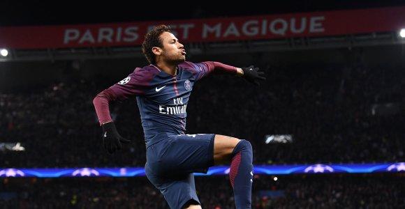 """Čempionų lyga: """"Man Utd"""" krito Bazelyje, """"Barca"""" iškovojo kelialapį, PSG mušė septyniskart"""