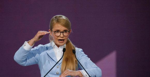 Ukrainos ekspremjerė Julija Tymošenko dalyvaus prezidento rinkimuose