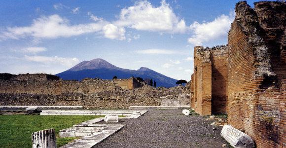 Mokslininkai nustatė, kad Vezuvijaus išsiveržimo pražudyti žmonės patyrė daugiau kančių nei manyta anksčiau