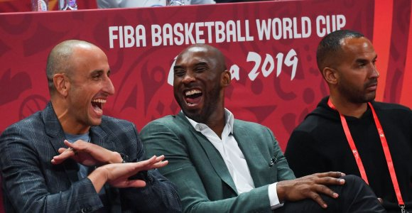 """Kobe Bryantas gailisi, taip ir neturėjęs galimybės sužaisti prieš """"mitinį"""" lietuvį"""