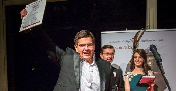 Tarptautinio V.Noreikos dainininkų konkurso pirmosios vietos laurai atiteko ukrainiečių tenorui