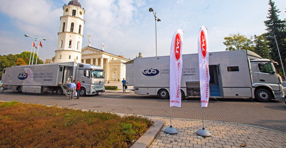 Lietuvių kūrinys – 4,5 mln. eurų vertės kilnojama TV studija