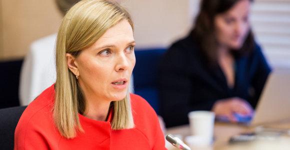 A.Bilotaitė įtaria buvusio ministro ir NMA vadovo sąmokslą