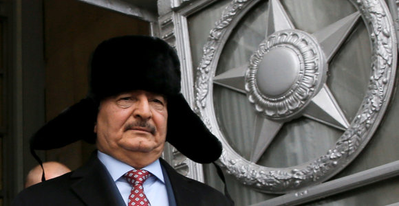 Libijos maršalas Kh.Haftaras susėdo derybų su Rusijos gynybos ministru