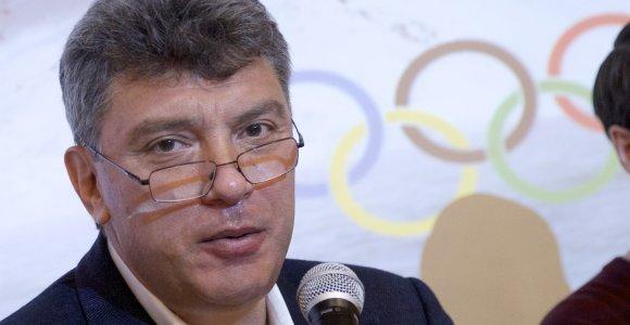 Talino meras nepritaria idėjai vieną iš senamiesčio gatvių pavadinti B.Nemcovo vardu