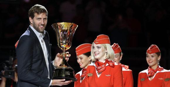 FIBA Dirką Nowitzkį paskyrė žaidėjų komisijos pirmininku