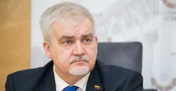 Seimo Antikorupcijos komisija iš pavaduotojų neatleido D.Kaminsko