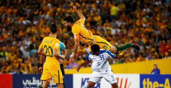 Australija ketvirtą kartą iš eilės pateko į pasaulio čempionatą