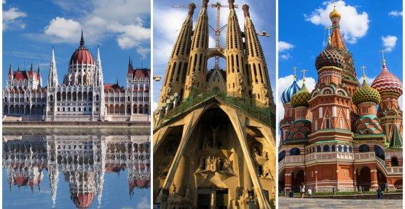 Kelionių idėjos ilgajam savaitgaliui: įspūdžių kupini garsiausių Europos sostinių maršrutai
