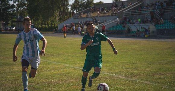 LFF taurės ketvirtfinalyje – trys žemesnio diviziono klubai