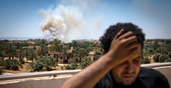 JT Saugumo Taryba paragino nutraukti ugnį Libijoje