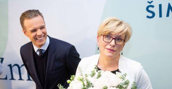"""""""Atsakingų partijų"""" koalicija: dešinieji gali neišsiversti be I.Šimonytės ir kairiųjų"""