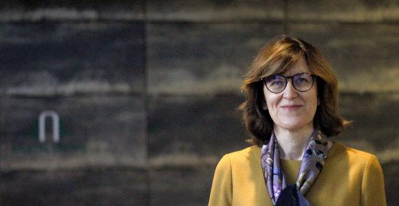 Buvusi VPT direktorė Diana Vilytė pradėjo dirbti Registrų centre