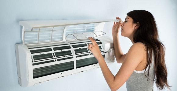Oro kondicionierių paklausa viršija rekordus: montuotojų tenka laukti ir mėnesį