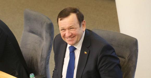 VRK gavo Kęstučio Pūko atsistatydinimo prašymą, svarstymas – sausio 22 dieną
