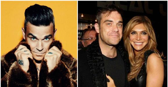 """Robbie Williamso koncertui artėjant: """"Take That"""" istorija, turtai ir gražuolė žmona"""