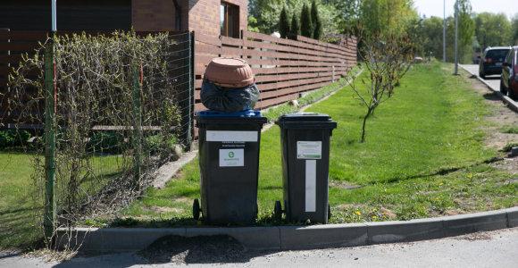 Gauti atliekų konteinerį Vilniuje – sunkiau nei Rusijos vizą