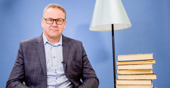 """Linas Kunigėlis: """"Kiekvienam mąstančiam žmogui knygos turėtų būti svarbios"""""""