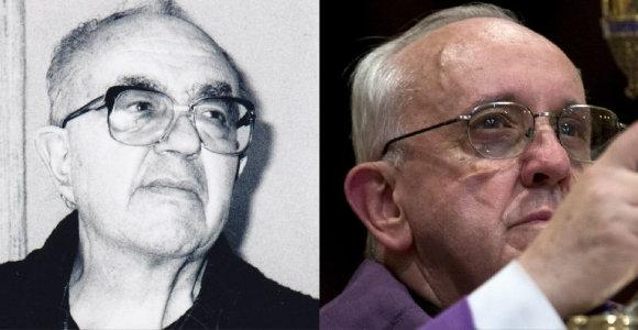 Popiežius Pranciškus: išsipildžiusi kunigo Česlovo Kavaliausko svajonė