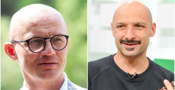 """Žvaigždžių karai baigėsi: E.Jakilaitis ir J.Didžiulis nusprendė santykius """"pagydyti"""" ne teisme"""