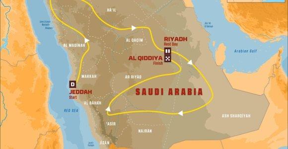 2020-ųjų Dakaro paslapties skraistė nukrito: kas laukia lietuvių Saudo Arabijoje?