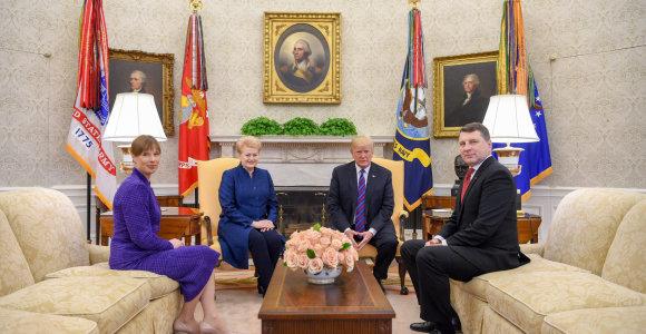 JAV gynybos biudžeto įstatyme – raginimas stiprinti Baltijos šalių oro policijos misiją