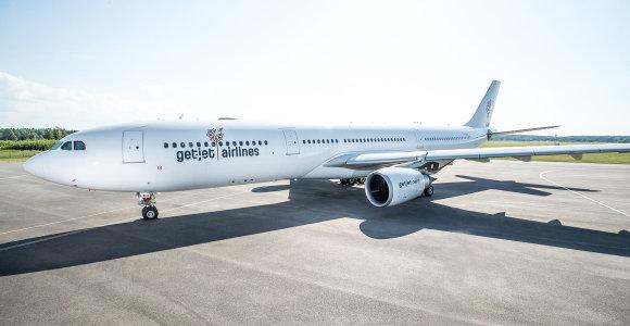 """""""GetJet"""" – pirmoji Lietuvos avialinijų bendrovė, pradėjusi transatlantinius skrydžius"""