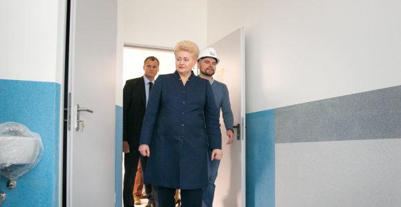 D.Grybauskaitė: užkrečiamų ligų protrūkis rodo ydas sveikatos politikoje