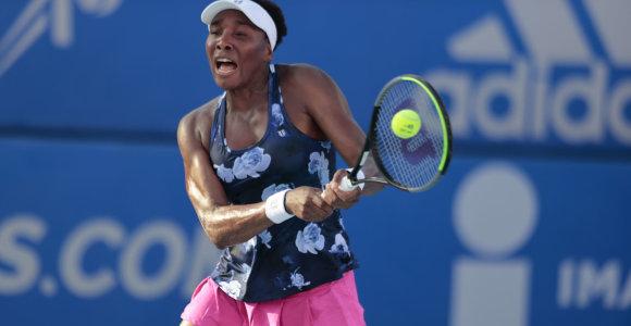 """WTA turnyre Monterėjuje – skirtingas JAV """"Didžiojo kirčio"""" čempionių likimas"""