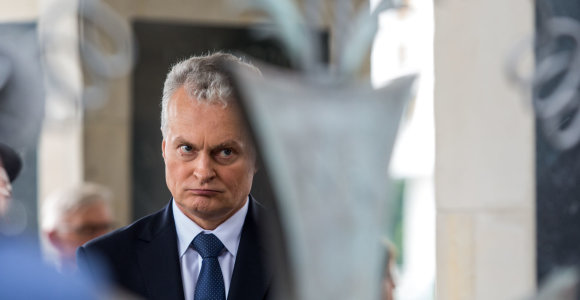 G.Nausėda sukritikavo R.Šimašių, pripažino sunkumus formuojant Vyriausybę, bet ne savo komandą