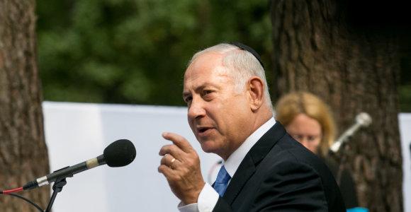B.Netanyahu: Izraelis ir toliau kovos su Iranu Sirijoje, koordinuos veiksmus su Rusija