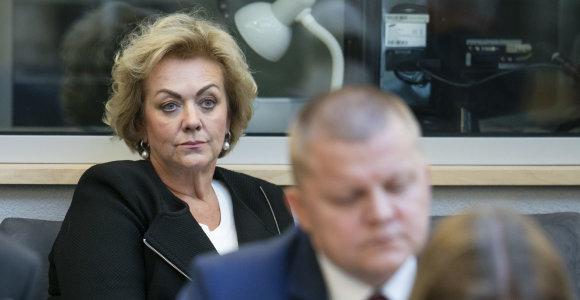 I.Rozovos ryšių tyrimas kelia aistras Seime: LLRA išvadino R.Karbauskio politinio lauko trąšomis