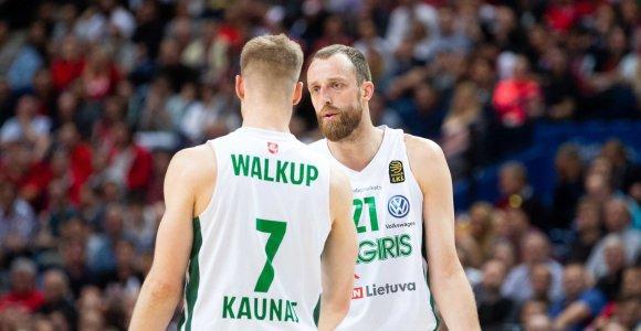 """""""Žalgiris"""" pradėjo pasirengimą: A.Milaknis ir T.Walkupas jau pasiilgo krepšinio"""