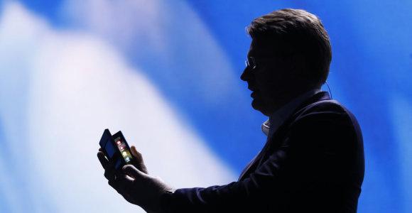 """Sulankstomas """"Samsung"""" telefonas kainuos daugiau nei 1500 eurų"""