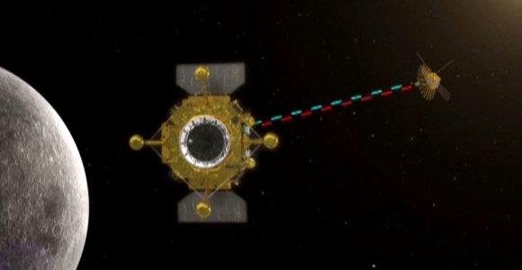 Išskleistas už Mėnulio pasislėpęs kinų teleskopas