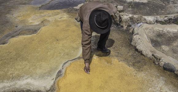 Kitoks Ekvadoras: slaptas Andų indėnų auksas