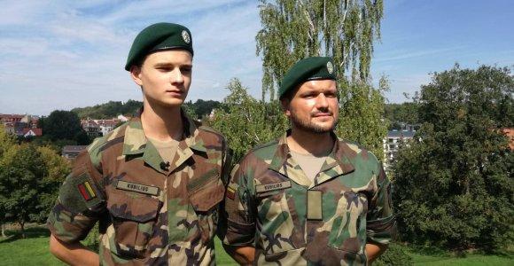 """Televizijos prodiuseris Dominykas Kubilius kartu su sūnumi tarnauja tėvynei: """"Šaulystė mudu suartino"""""""