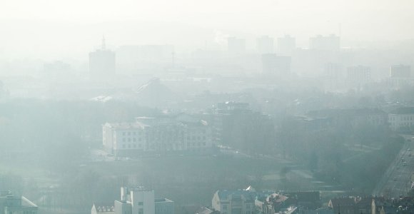 Įspėja dėl oro taršos: Klaipėda viršijo ribą, prie jos artėja Vilnius ir Kaunas