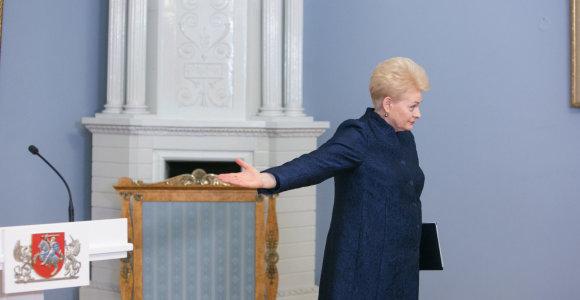 15min primena: koks likimas anksčiau ištikdavo D.Grybauskaitės kritikuojamus ministrus?