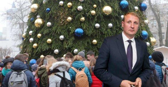 Andrių Šedžių supykdė mitingas prie Šiaulių savivaldybės: abiturientus iš pamokų atginė per prievartą?