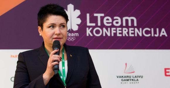 D.Gudzinevičiūtei – pareigos žiemos olimpinių žaidynių koordinacinėje komisijoje