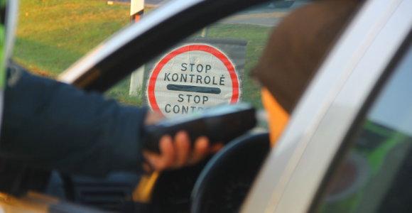 Jungtinis Kauno ir Panevėžio kelių policijos reidas atskleidė vairuotojų ydas