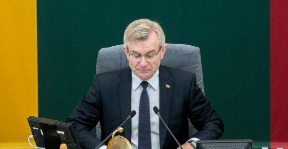 Seimo pirmininkas ir krašto apsaugos ministras lankysis Estijoje