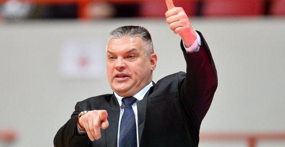 Manto Kalniečio ir Mindaugo Kuzminsko klube – naujas vyriausiasis treneris