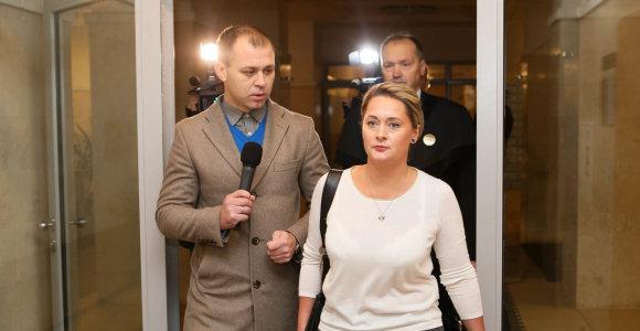 Sukeistų D.Gineikaitės kraujo mėginių byla stringa: teismas svarstys advokatų prašymą nutraukti baudžiamąjį procesą