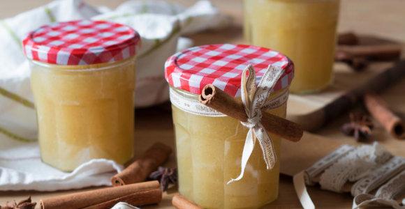 Šventinė dovana stiklainėlyje: 15 naminių džemų, čatnių ir kitų skanėstų receptų